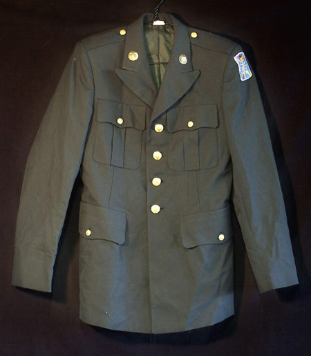 U.S. Army Dress Green Coat