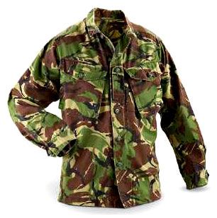 British Military Issue Woodland DPM Lightweight Shirt
